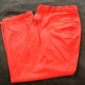 GAP 10 Slim City Crop Red